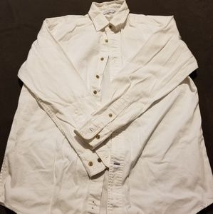 BFC - Men's Button Down Shirt - White